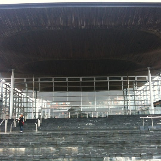 Photo taken at The National Assembly for Wales by K D. on 3/7/2012