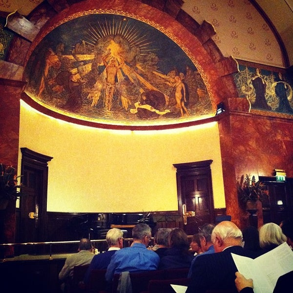 Photo taken at Wigmore Hall by Rylan H. on 12/7/2011