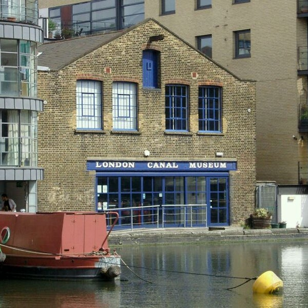 Photo taken at London Canal Museum by frogplate on 5/25/2011