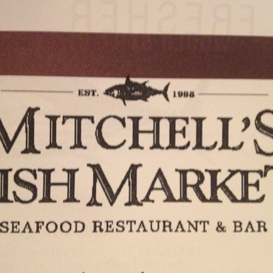 Mitchell 39 s fish market now closed winter park village for Mitchell s fish market happy hour menu