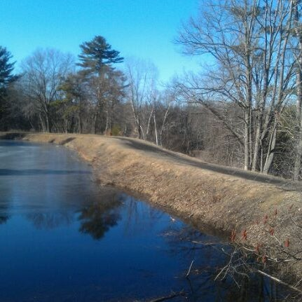 Photo taken at Mine Falls Park by Scott S. on 2/9/2012