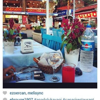 8/19/2012 tarihinde Naci S.ziyaretçi tarafından Çapari Restaurant'de çekilen fotoğraf