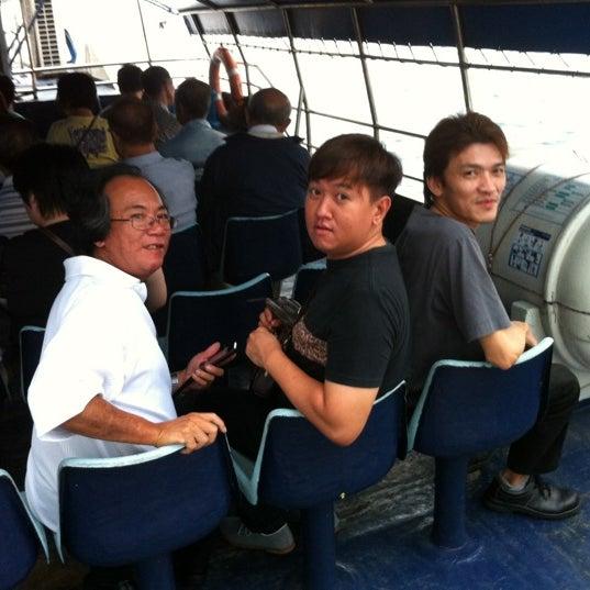 Das Foto wurde bei Tanah Merah Ferry Terminal von Boon Leong J. am 5/2/2012 aufgenommen