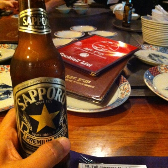 Photo taken at Mt. Fuji Japanese Steak House by tony b. on 3/19/2012
