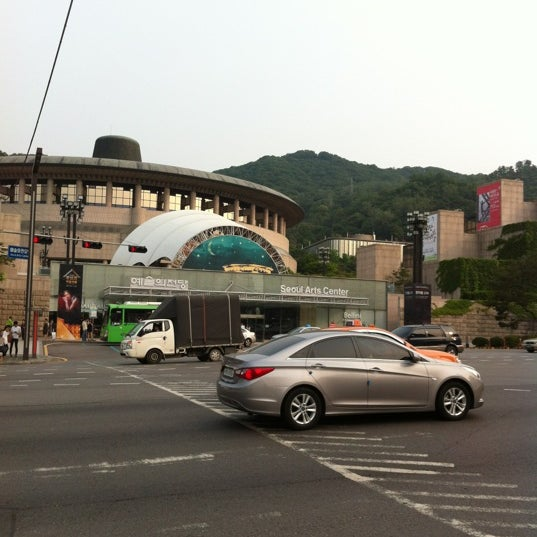 Photo taken at Seoul Arts Center by izumi on 6/23/2012