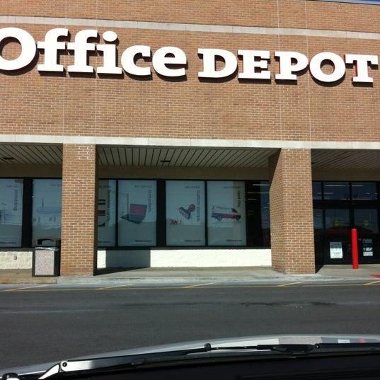 Photo Taken At Office Depot By Regina E On 2 26 2017