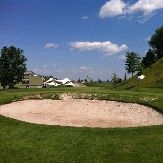 Photo taken at Golf Hostivař by Alan N. on 6/23/2012