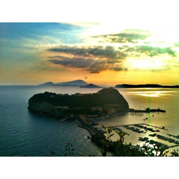 Photo taken at Isola di Nisida - Nisida Island by Federica P. on 8/13/2012