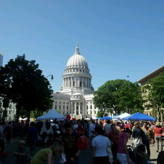 Photo taken at Dane County Farmers' Market by Jared M. on 6/2/2012
