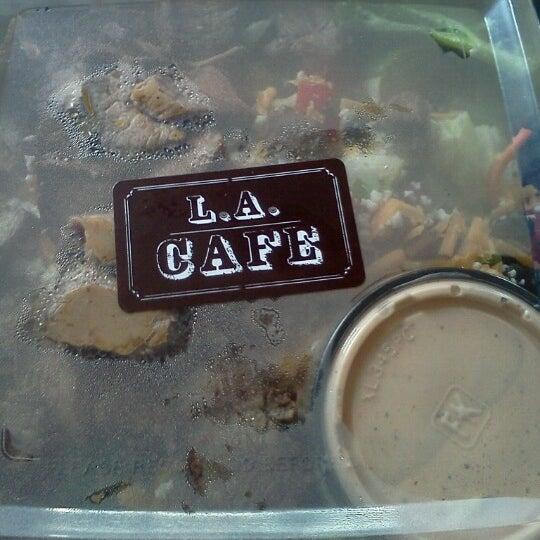 Photo taken at LA Café by Bubsy on 9/9/2012