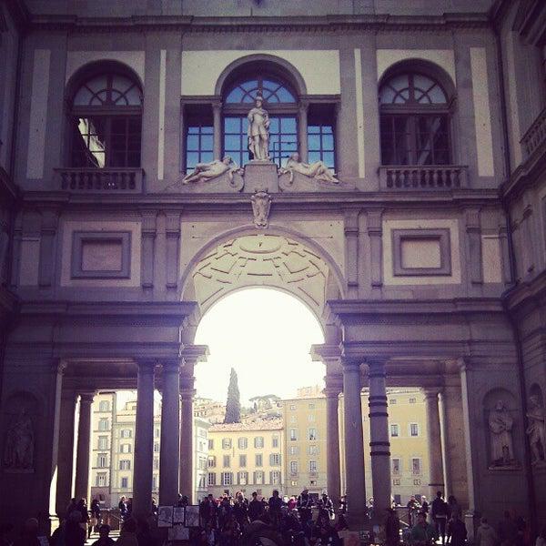Photo taken at Uffizi Gallery by Artem U. on 4/22/2012