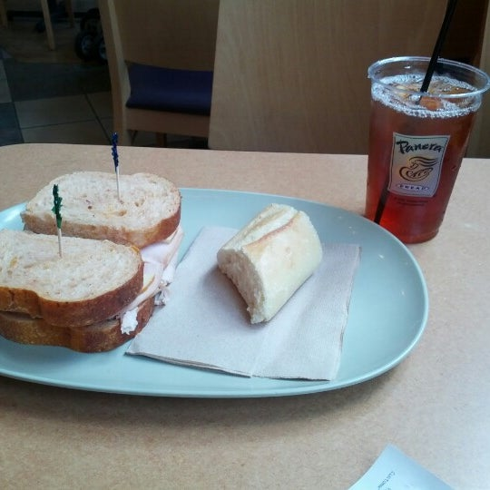 Photo taken at Panera Bread by Christopher D. on 6/8/2012