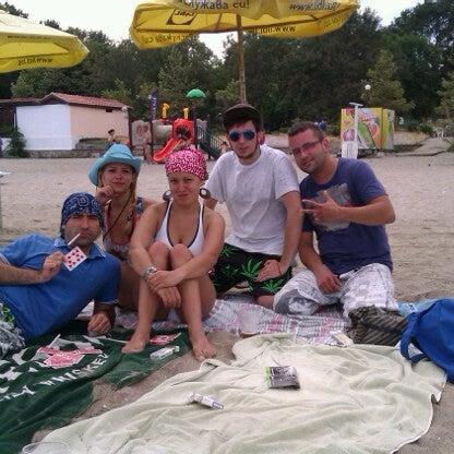 Foto scattata a Централен Плаж Бургас (Burgas Central Beach) da Вергиния Б. il 8/3/2012