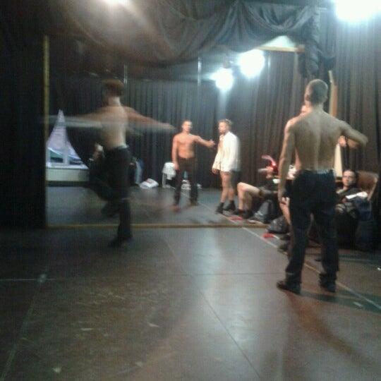 Снимок сделан в Театр-кабаре на Коломенской/ The Private Theatre and Cabaret пользователем Yulia K. 8/23/2012