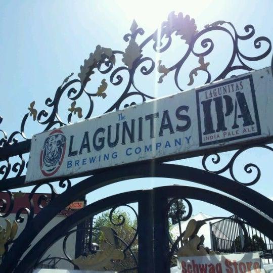 Photo taken at Lagunitas Brewing Company by Dan B. on 4/1/2012