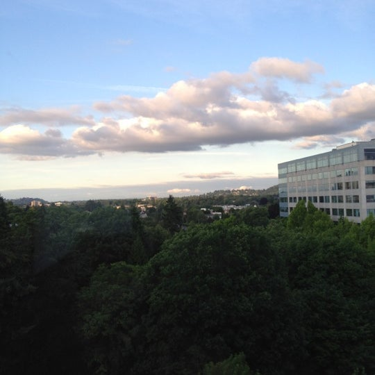 Photo taken at DoubleTree by Hilton Hotel Portland by Marcos O. on 7/2/2012