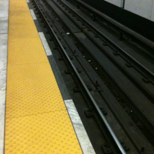 Photo taken at Civic Center/UN Plaza BART Station by Darin H. on 4/6/2012