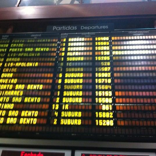 Photo taken at Estação Ferroviária de Porto-Campanhã by Pedro C. on 7/7/2012
