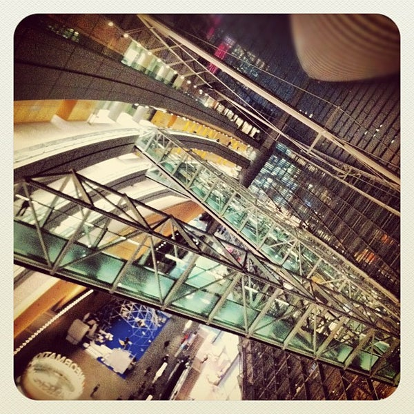 Photo taken at Glass Building by ティム on 3/7/2012