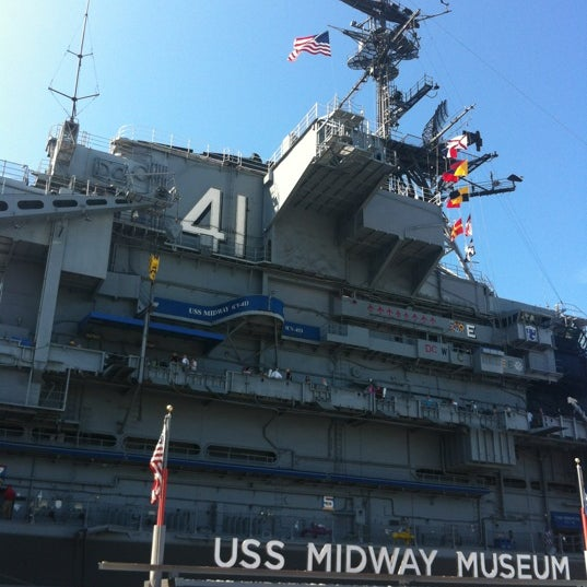 Photo taken at USS Midway Museum by Kathleen V. on 9/10/2012