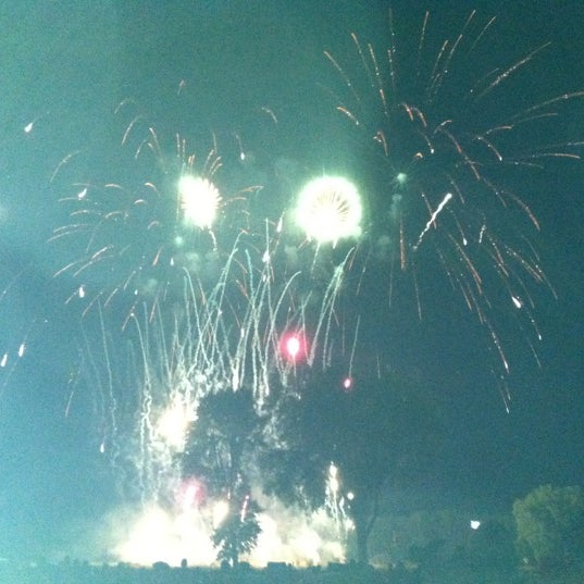 Photo taken at Warner Park by Brianne on 7/1/2012