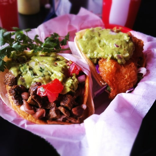 Photo taken at Nick's Crispy Tacos by foodforfel on 6/29/2012