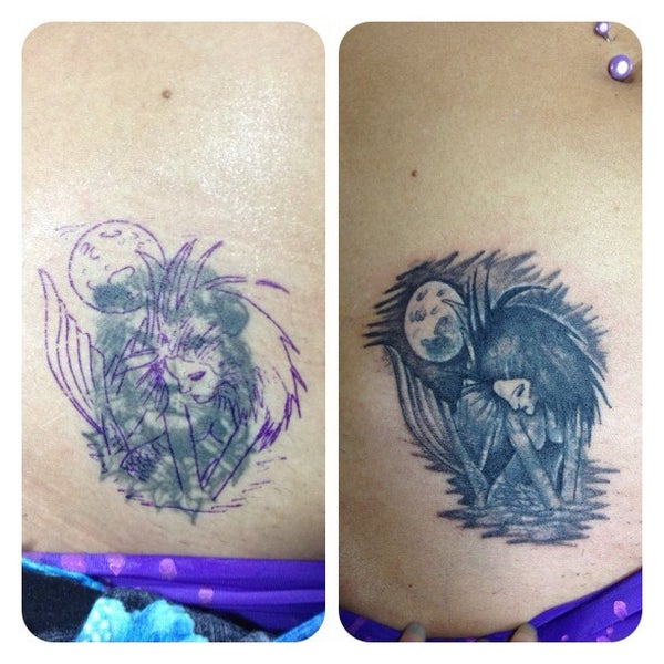 Photo taken at Tattoo O'd studio by Boho M. on 6/17/2012