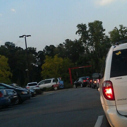 Photo taken at Chick-fil-A Holly Springs by Karen F. on 8/1/2012