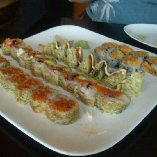 Photo taken at Masamoto Sushi & Asian Grill by Mary Ann D. on 7/11/2012