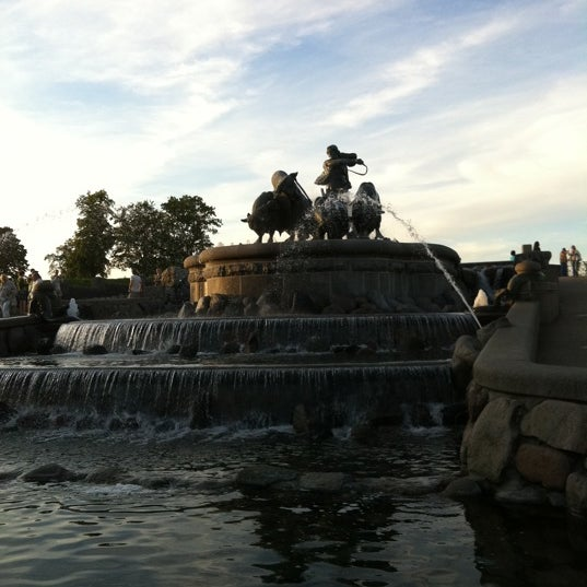 Photo taken at Gefion Fountain by Stefan B. on 8/3/2011