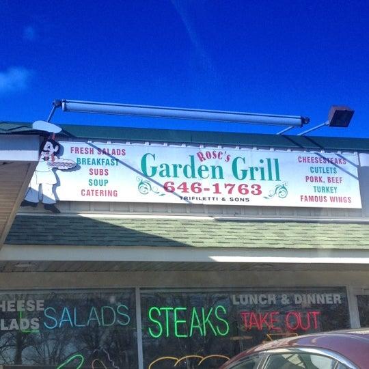 rose 39 s garden grill sandwich place in northfield