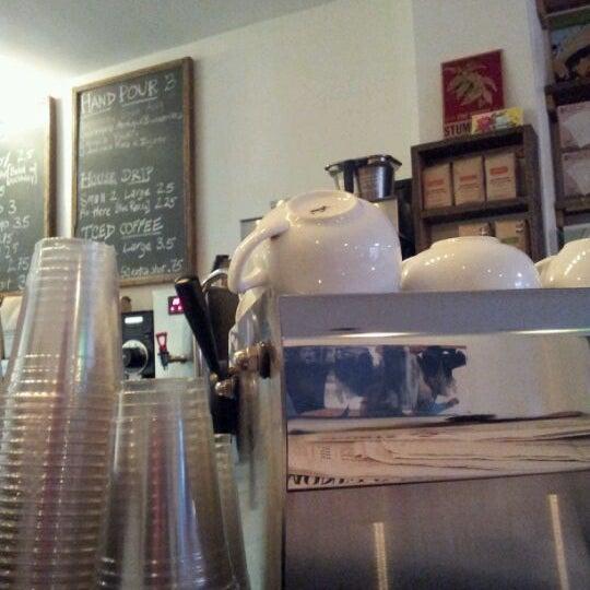 Photo taken at Bodhi Coffee by Blake C. on 12/14/2011