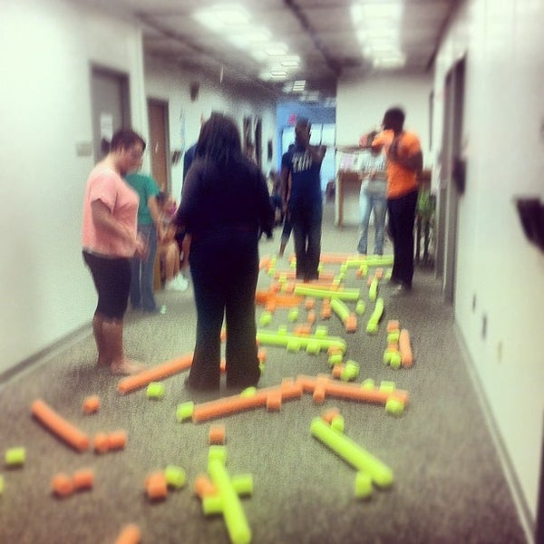 Photo taken at Student Affairs Building (SAB) at the University of Illinois Springfield by Brandon V. on 6/21/2012