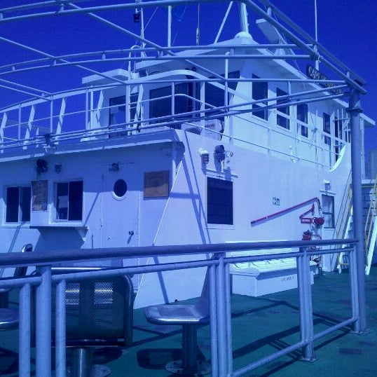 Photo taken at Cape May-Lewes Ferry | Cape May Terminal by Artem A. on 9/12/2011