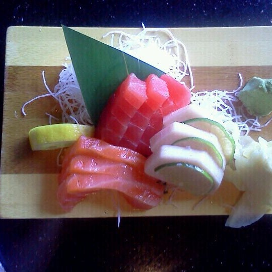 Photo taken at Aomi Japanese Steakhouse by Melanie K. on 6/6/2012