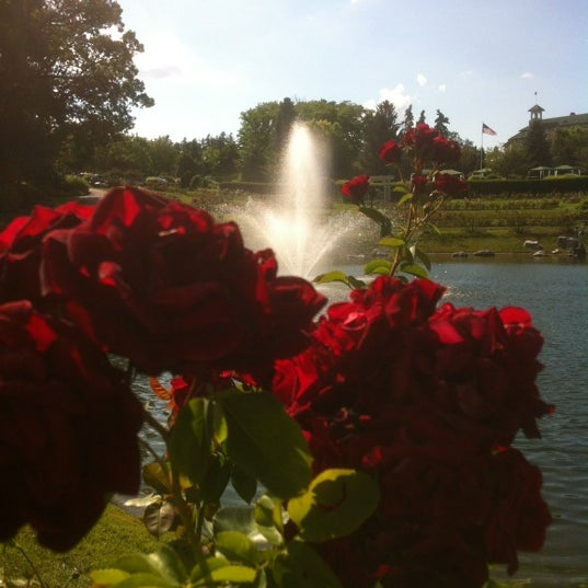 Photo taken at Hershey Gardens by Steph H. on 6/23/2012