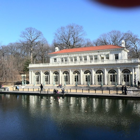 Photo taken at Prospect Park Boathouse & Audubon Center by Atom on 2/20/2012