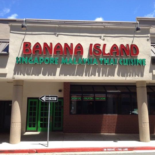 Photo taken at Banana Island by Krakatau B. on 6/24/2012