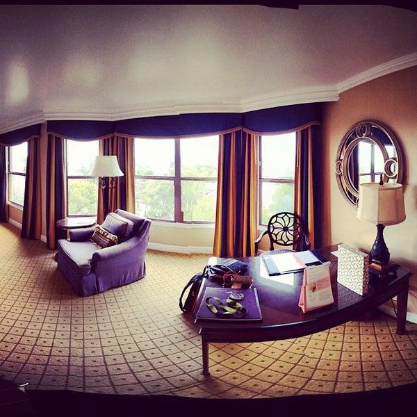 Photo taken at Langham Huntington Hotel by Ku M. on 2/19/2012