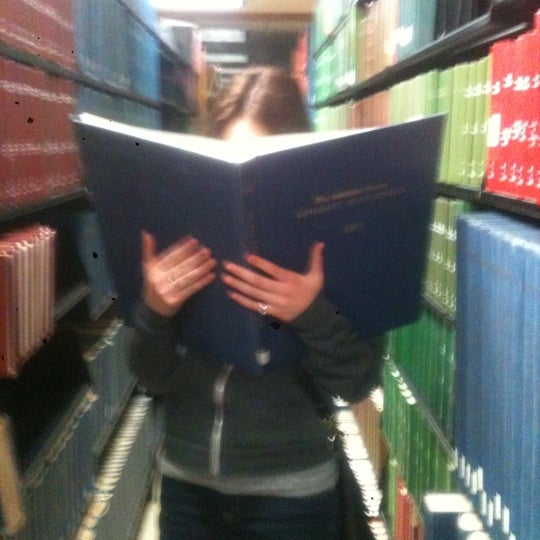 Photo taken at UWM Golda Meir Library by Kelsey E. on 10/31/2011