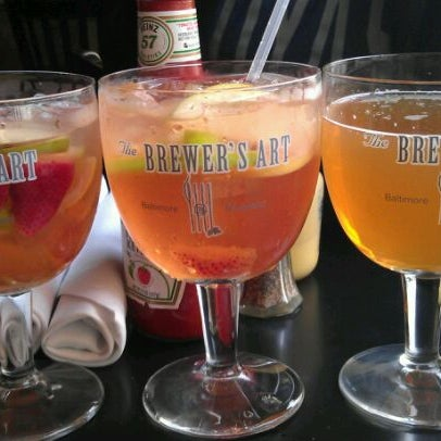 Photo taken at The Brewer's Art by Jessica B. on 4/23/2012
