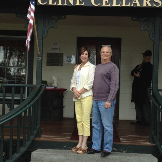Photo taken at Cline Cellars by E.C. W. on 5/3/2012