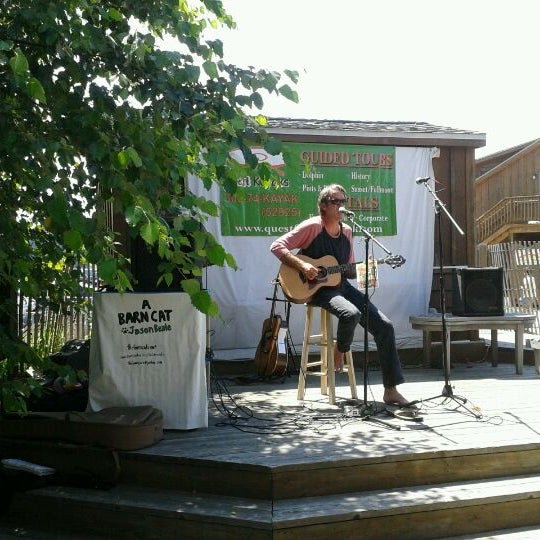 Photo taken at The Big Chill Surf Cantina by Kathy S. on 7/22/2012