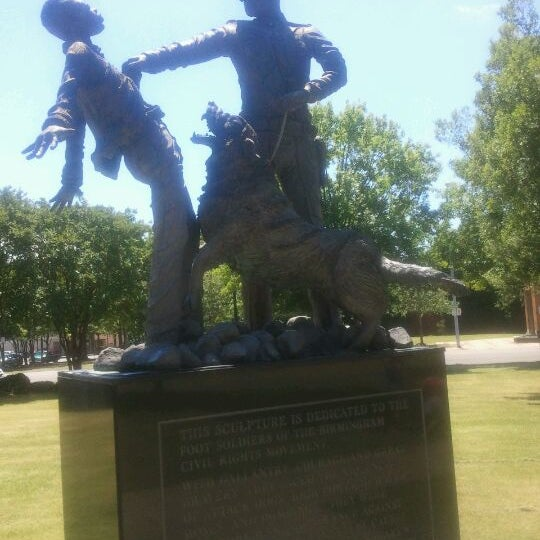 Photo taken at Birmingham Civil Rights Institute by Tina K. on 5/10/2012