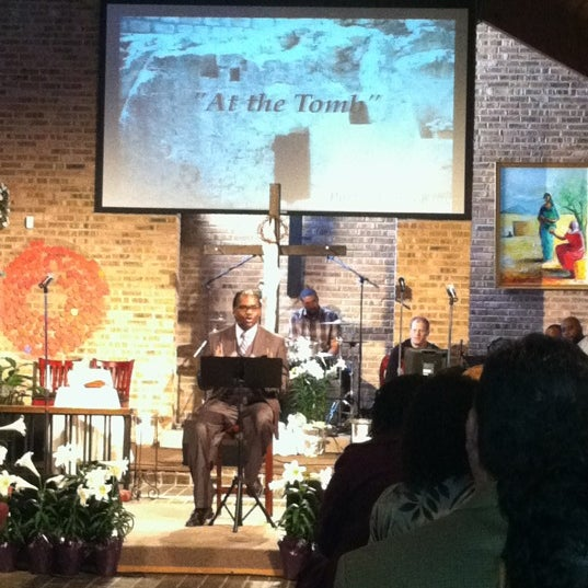 Photo taken at The Emmaus Community by Andrew T. C. on 4/8/2012