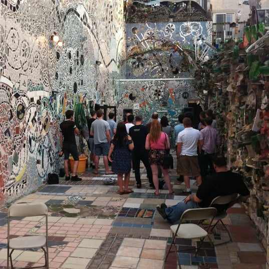 Photo taken at Philadelphia's Magic Gardens by Robert H. on 6/25/2011