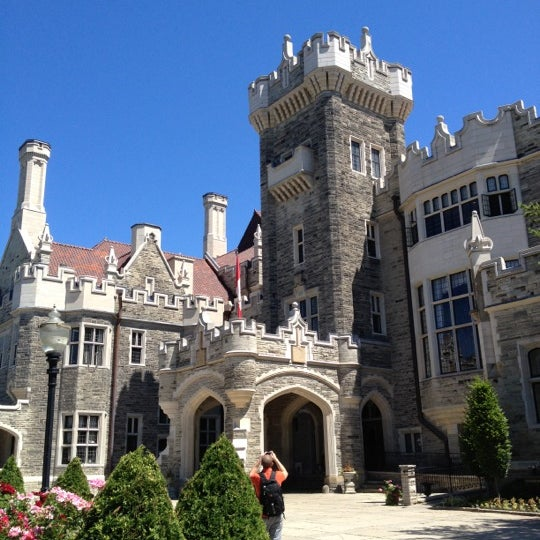 Photo taken at Casa Loma by Eileen on 6/14/2012