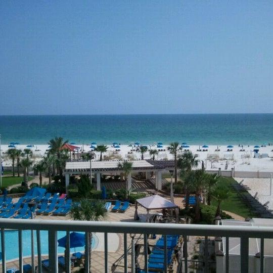 Photo taken at Hilton Pensacola Beach by Duane M. on 8/26/2011