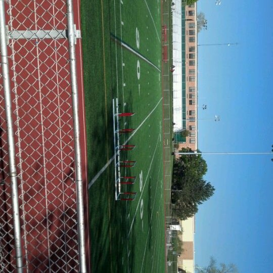 Photo taken at Hinsdale Central High School by Julie B. on 4/11/2012