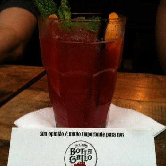 Photo taken at Bottega Bottagallo by LETICIA K. on 1/7/2012